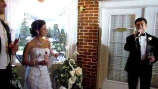 THE BEST FATHER OF THE BRIDE SPEECH!!!!