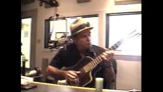 Railroad Blues 3/19/13 STEVE JAMES live National Resonator Blues Guitar