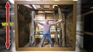 BUILDING THE LARGEST REPTILE CAGE I HAVE EVER HAD!! | BRIAN BARCZYK