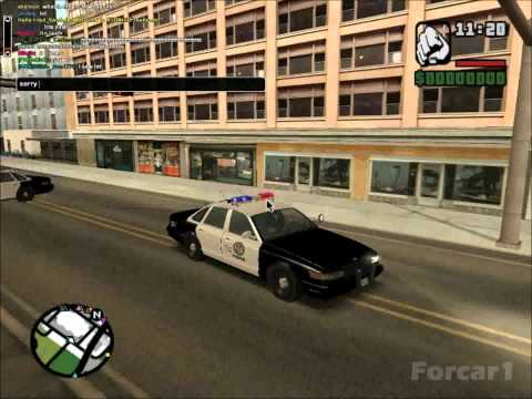 GTA San Andreas GTA V (GTA 5) Police Car Mod [ELM] [HD]
