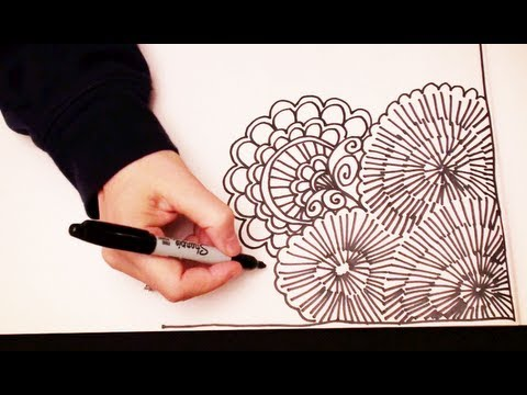 Doodling ASMR Style with Sophie (High Quality Sound, drawing, cutting, crinkling, tapping sounds)