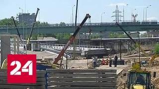 Строительство развязки на шоссе Энтузиастов выходит на финишную прямую