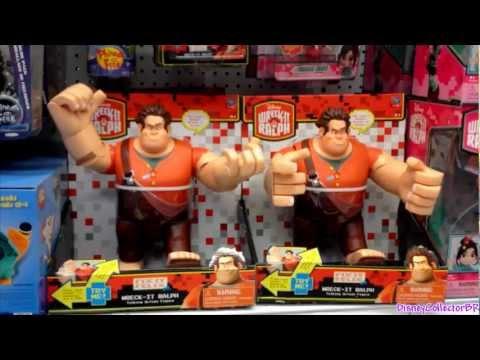 Brinquedos Detona Ralph E Vanellope Von Schweetz plush Força toys Lojas Target ToysRus