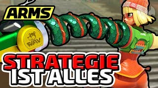 STRATEGIE IST ALLES - ♠ ARMS GLOBAL TESTPUNCH ♠ - NINTENDO SWITCH  - Dhalucard