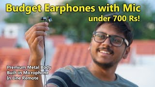Best Budget Earphones with Mic under 700Rs? Stuffcool bac Review