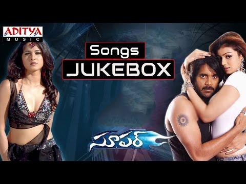 Super Telugu Movie Full Songs    Jukebox    agarjuna, Anushka, Ayesha Takia