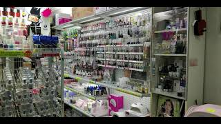 Nail Art shopping in Hong Kong
