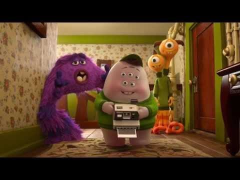 Monsters University Clip - First Morning I Official Disney Pixar I HD