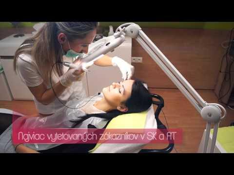 Profesionálne, bezbolestné tetovanie permanentného make-upu