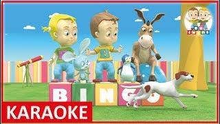KARAOKE    BINGO   Nursery Rhymes for Kids Songs