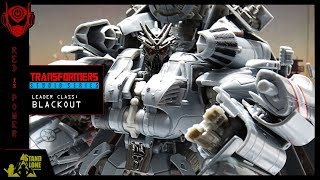Transformers Studio Series / Leader Class - Decepticon Blackout | Toy Review Spotlight