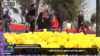 مصر العربية |  30 مليون زهرة تزين اسطنبول في مهرجان التوليب