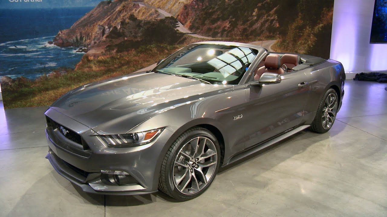 2015 ford mustang convertible nyc youtube. Black Bedroom Furniture Sets. Home Design Ideas