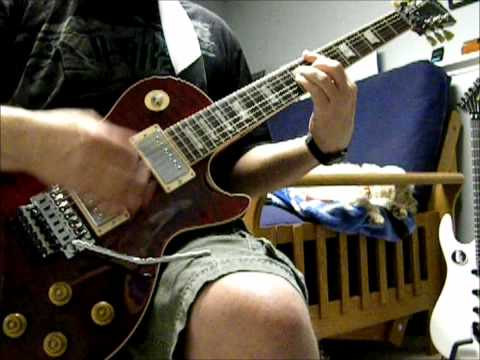 Alex Lifeson Les Paul, Spirit of Radio guitar cover