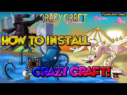 how to install crazy craft 2.1 for minecraft