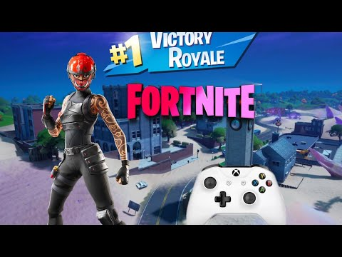 fortnite gameplay solo victory royale (xbox one s)(1080p HD)