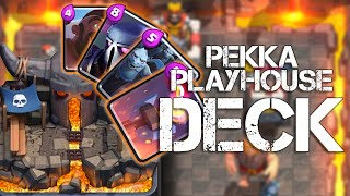 Clash Royale | BEST ARENA 4 DECK | PEKKA PLAYHOUSE HOG FREEZE COMBO STRATEGY