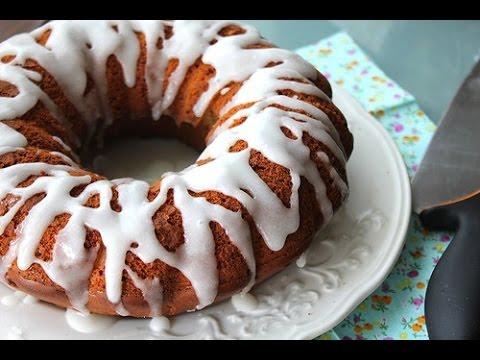 Кофейный пирог на кефире - просто и вкусно!