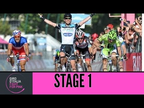 Giro d'Italia 2013 tappa/stage 1 Official Highlights