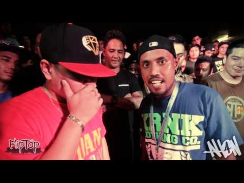 Fliptop - Badang Vs Zaito video