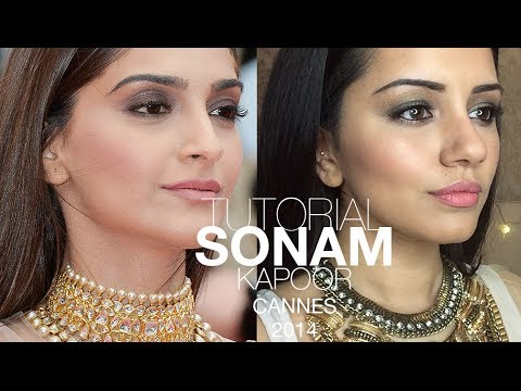 Tutorial | Sonam Kapoor Cannes Film Fesitval 2014 Make-up Look | Kaushal Beauty