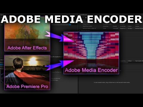 Adobe Media Encoder Beginner Tutorial