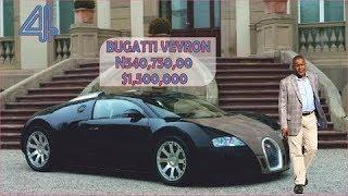 DANGOTE #1.13 billion Car Garage ► All Dangote Cars in 2018 with their price (Naira & Dollar)