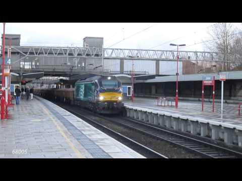 Winters Freight January 2015 at Stafford