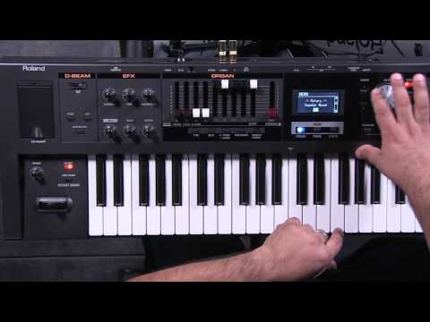 Roland V-Combo VR-09 Organ Section