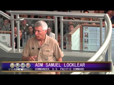 Tradewinds: Admiral Locklear Indo-Asia-Pacific Rebalance