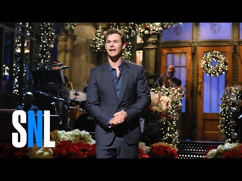 Chris Hemsworth Returns Monologue - SNL