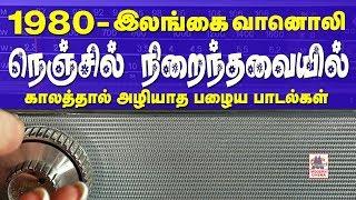 Ceylone Radio |1980களில் மாலை வேளையில் இலங்கை வானொலி தந்த மறக்க முடியாத பாடல்களான நெஞ்சில் நிறைந்தவை