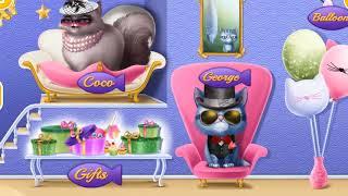 Fun Animals Kitten Care Kids Games   Cat Hair Salon Birthday Party   Dress Up Games for Children