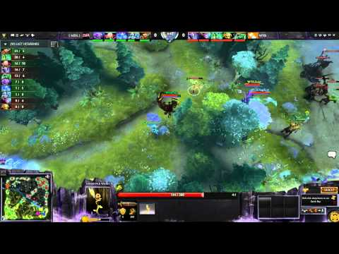 NoDotaNoLife vs White Flag Bear - Japan DotA Cup Ro8