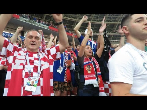 Watch: Croatian fans give strong statement to the England supporters | FIFA World Cup 2018 thumbnail