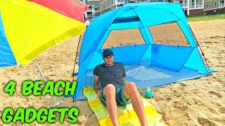 4 Beach Gadgets Put to the Test