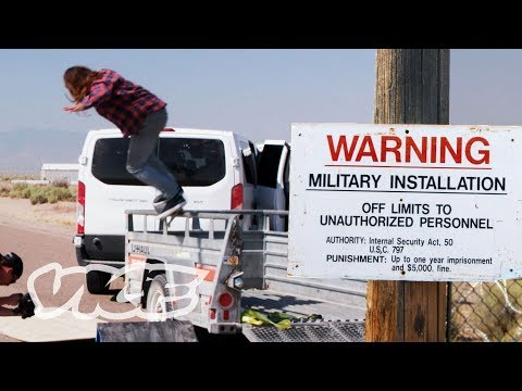 Pro Skaters Rush Area 51: Can You Skate It?