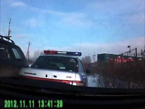 Полицейский пострадал из-за пьяного водителя