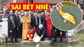 Trớ trêu thay TỔNG CHỌNG thả cá phóng sinh, táo quân sẽ trình tấu gì với Ngọc Hoàng #VoteTv