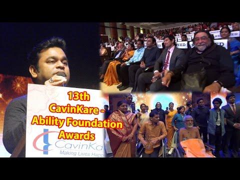 13th CavinKare Ability Awards | A.R.Rahman | Chiyaan Vikram | Prahlad Kakar