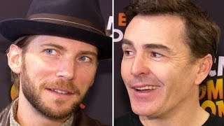 Troy Baker & Nolan North Interview Funny Voice Acting Adlibs