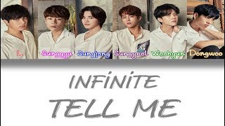 Infinite (인피니트) - Tell me [Color Coded Han/Rom/Eng Lyrics] [TEASER]
