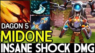 MidOne [Tinker] Insane Shock Damage with Dagon 5 7.14 Dota 2