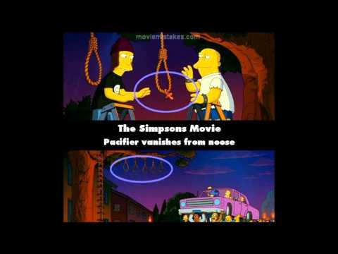 The Simpsons Movie (2007) Movie Mistakes
