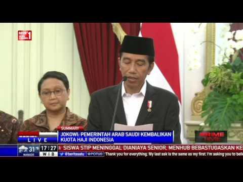 Presiden Jokowi: Kuota Haji Indonesia Tahun 2017 Jadi 221 Ribu #1