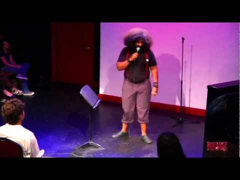 Reggie Watts performs at the RISK! Live Show in NYC - August 23, 2012