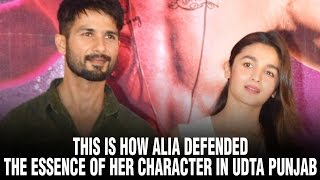 This is how Alia defended the essence of her character in Udta Punjab | Alia Bhatt Hot
