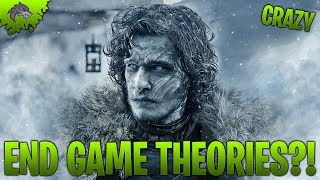 Game of Thrones Season 8 End Game Theories! CRAZY ENDING and New Character? | Lycan Studios