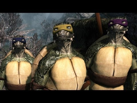 Decapitating Donatello - Top 5 Skyrim Mods of the Week