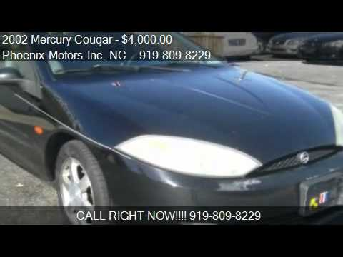 2002 Mercury Cougar V6 - for sale in Raleigh, NC 27610